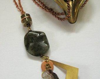 Laboradorite Pendant Necklace