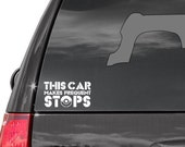 This Car Makes Frequent Stops - Pokemon Decal