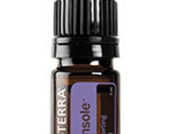 doTERRA Console, Comforting Blend, Essential Oil Blend, 5mL bottle, Emotional Wellness, Essential Oils, Diffuser Oils, Therapeutic Oils,