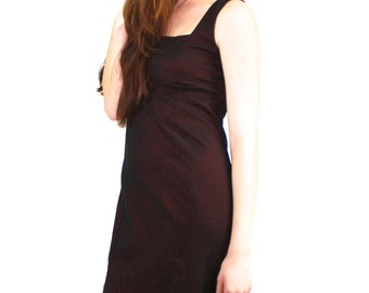 90s iridescent mini dress