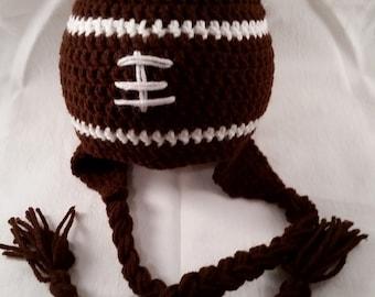 Football Hat, handmade