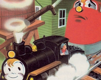 Choo-Choo The Little Switch Enginge by Wallace Wadsworth, illustrated by Mary Jane Chase