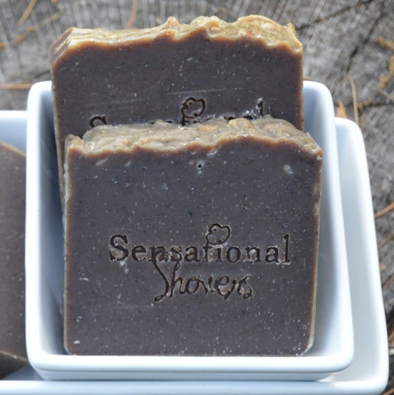 Black Soap Artisan Soap Bar 5oz