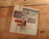 Scrapbook Album for Photos - Explorer's Album for Camping or Outdoor Adventures, Handmade, Interactive