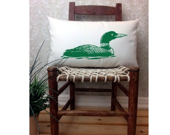 Duck PIllow, Man Cave Pillow, Hunter Gifts, Oblong Pillow, Man Cave Decor, Man Cave Stuff, Man Cave Gifts,  Duck Hunting Gifts