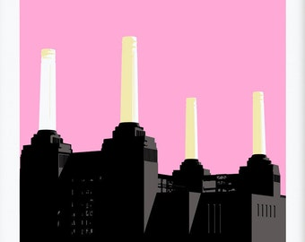 Battersea Power station Pink