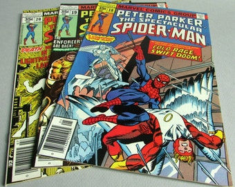 Peter Parker The Spectacular Spider-Man No. 18, No. 19, or No. 20, May, June, or July 1978, Marvel Comics