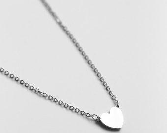 Heart Necklace - S.Steel