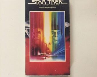 Star Trek - The Motion Picture [VHS] William Shatner, Leonard Nimoy