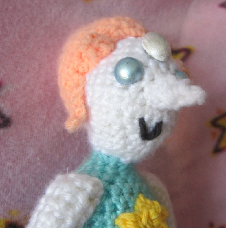 Pearl Steven Universe Amigurumi Doll by TheSassyEmporium ...