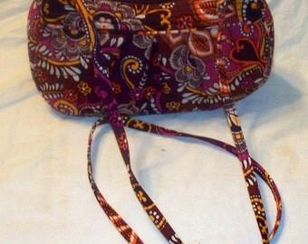 Vera Bradley Handbag - Safari Sunset  -  Frannie Purse - Retired Pattern