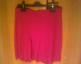 Versus red skirt