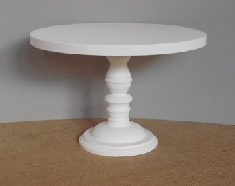 16 inch Cake Stand / Wood Cake Stand / Wedding Cake Stand / Rustic Cake Stand