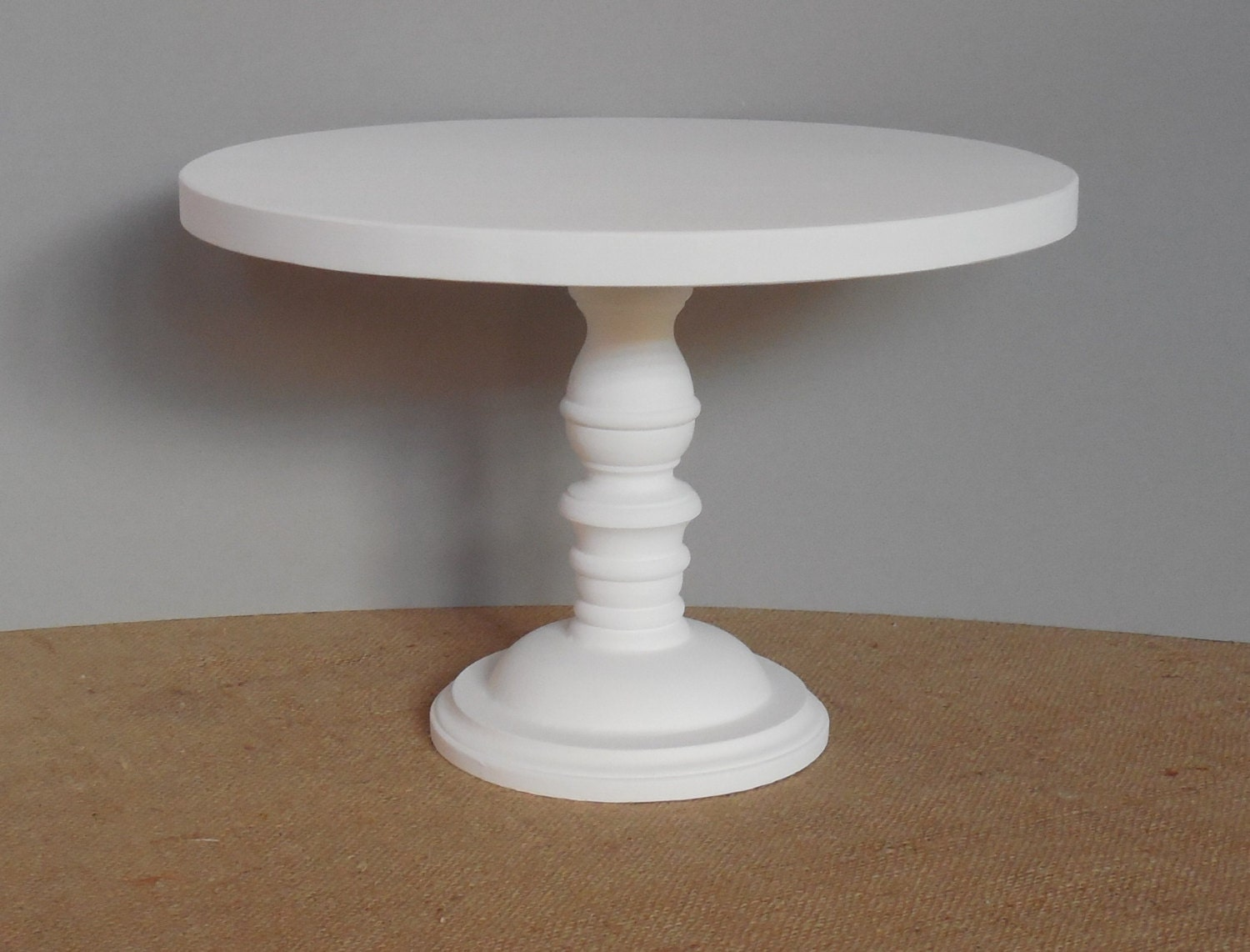 Inch cake stand wood wedding