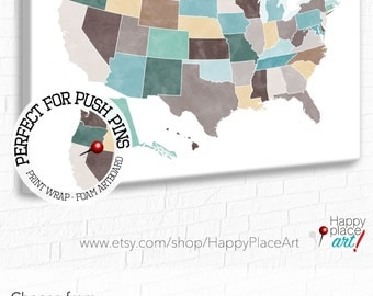 Customised Usa Map Large Us Map Usa Push Pin Map Usa Pin Map
