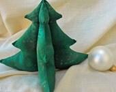 Dark Green Evergreen Tree  - Medium 8 inches