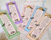 "Daughter of the King Bookmarks Princess Party Favor ""ALL COLORS"" Set of 5 Sunday School Class gift Inspirational Gift StrengthfortheJourney"