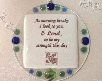 Inspirational Prayer Plaque