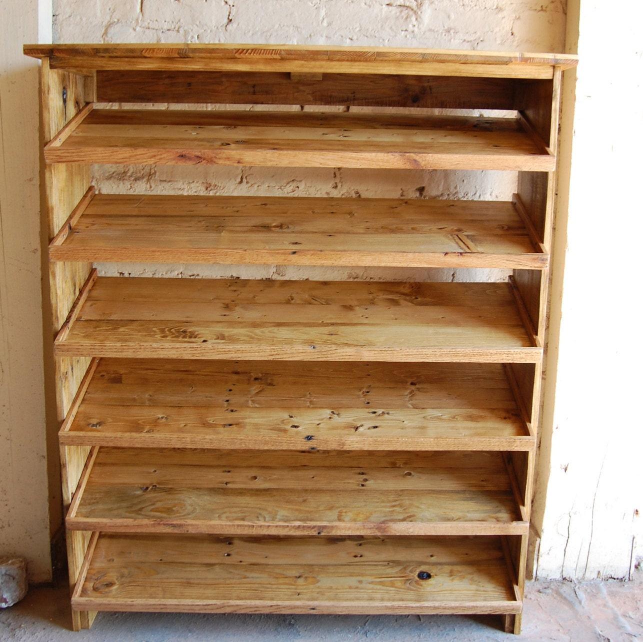 Foyer Table Shoe Rack : Entryway table shoe rack storage