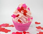 Valentines Day Cupcake Soap Birthday Cupcake Scented cupcake Frosting Soap Cupcake soaps Handmade Soap,Party Favors