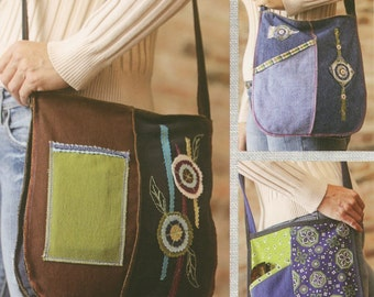 Creative Crossbody Bag Pattern by Indygo Junction (IJ970CR)