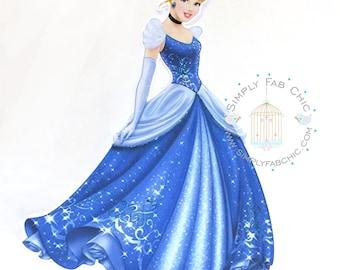 Princess Cinderella centerpieces
