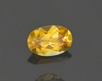 Lovely Golden Yellow Sapphire Gemstone from Montana 0.57 cts.