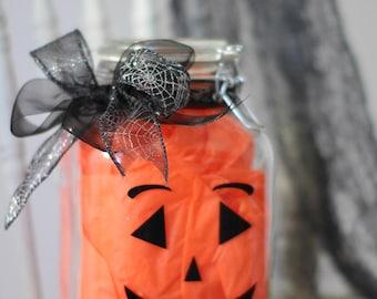 Pumpkin Halloween Candy Jar - HF-1