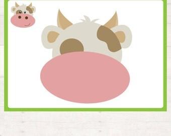 Farm Animal Playdough Mats  AUTOMATIC DOWNLOAD