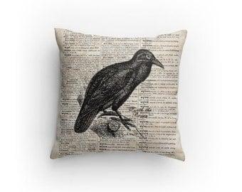 The Raven Halloween Pillow