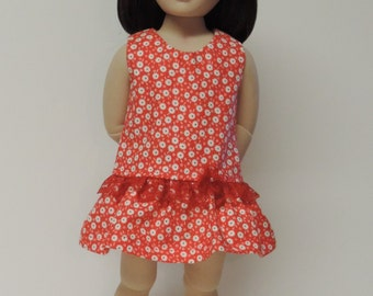 """Sundress and sandals for 16"""" dolls similar to A Girl for All Time®"""