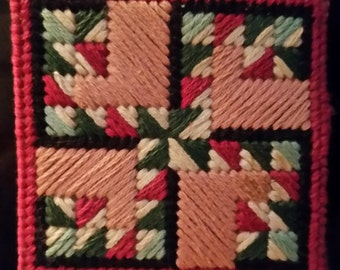 Quilt square magnets