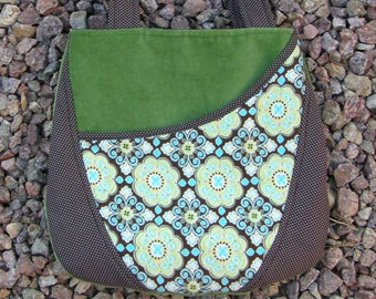 Green and Turquoise Purse