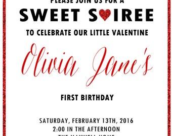 Valentine's Soiree Invitation (digital file)