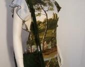 Authentic darkgreen vintage Gianni Versace bag