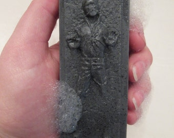 Star Wars Gift, Han Solo Soap / Star Wars / geek chic / geek gifts geek stuff / man gifts / Father's day gift