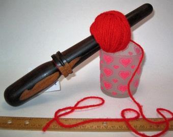 Cocobolo: Handturned Nostepinde (Yarn Ball Winder) JY-069