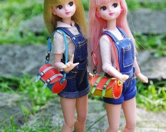 "1/6 Scale - Handmade - Mini ""Merry"" Barrel Bag - 4 Colors"