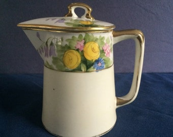 Lovely floral small teapot