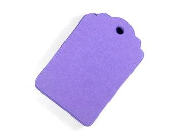 Purple Gift Tags Set of 20, Blank Gift Tags, Favor Tags, Wedding Tags, Hang Tags, Wish Tree, Blank Plum Purple Tags, Royal Purple Stack