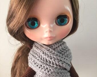 Poncho and Infinity Scarf Blythe crochet pattern