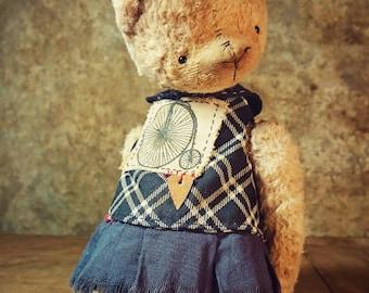 OOAK Teddy Bunny JUNE SWEETY by Jevgeni Bulahtin