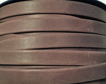 Pre Cuts, No Joins, Arizona Brown 10mm Flat Leather
