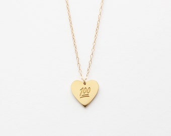 Keep It 100 Necklace - 1020