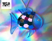 Tropical Fish Necklace - Fish Pendant - In aid of WCA (World Cetacean Alliance) - Fish Jewellery - Mermaid Jewellery - Sea Life Necklace