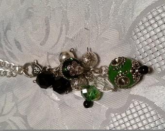 Bag Bling,necklace hanger, zipper pulls