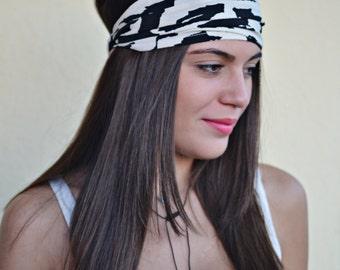 Black Headband, Ivory Headband, Bohemian Headband, Hair Accessories, Womens Accessories, Womens Turban, Womens Headband, Vintage Headbands