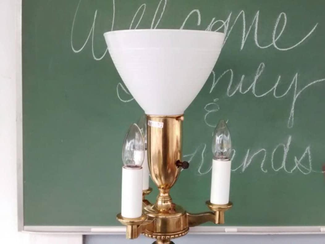 Stiffel Floor Lamp Lighting Lamp Art Deco Mid Century