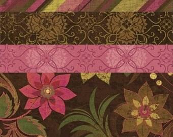 Fabric 1 YARD: Urban Valentines Day Fabric - Windham Fabrics - Urban Cosmo Collection