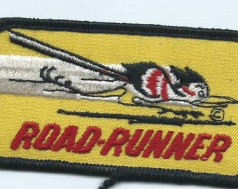 Road Runner Patch 2 X 3-3/4